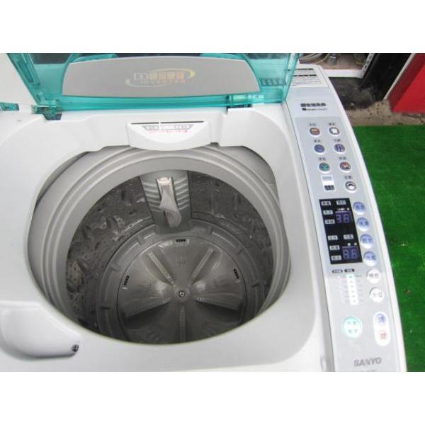 二手洗衣机出售,73三洋变频13kg超音波洗衣机73