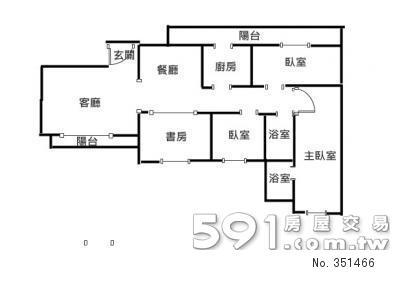 房屋大概平面图