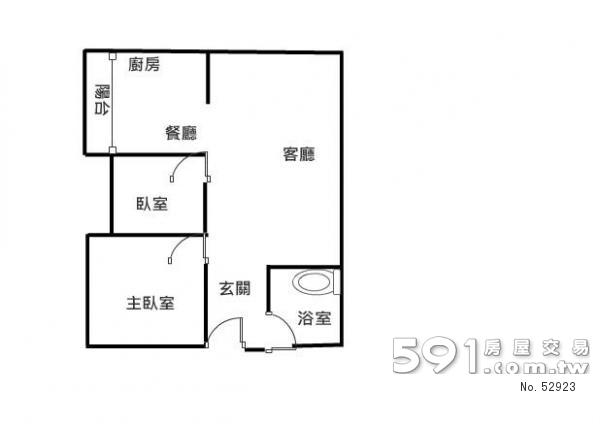 房屋格局平面图